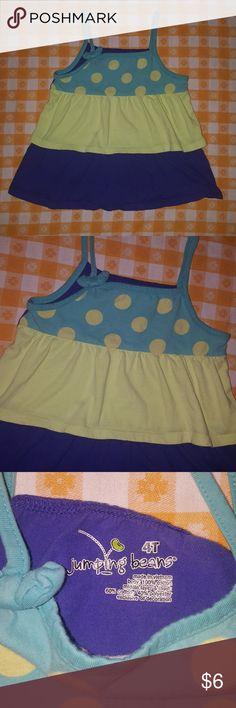 7bc0a720eb1a1 Jumping Beans top 4t polka dot Jumping Beans top 4t polka dot, cute, flowy