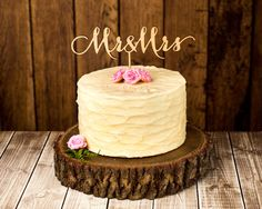Hey, I found this really awesome Etsy listing at https://www.etsy.com/listing/180556922/wedding-cake-topper-mr-and-mrs-birch