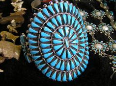 One of the most beautiful things that comes of the New Mexican culture is the turquoise jewelry that is widely treasured.