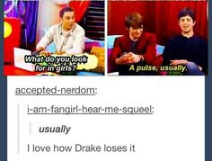Drake and Josh, tumblr funny