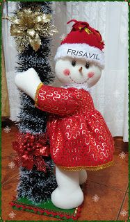 Christmas Wreaths, Christmas Ornaments, Xmas Crafts, Diy Projects To Try, Snowman, Holiday Decor, Nova, Country, Ideas