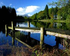 Il verde paesaggio di Aberfoyle