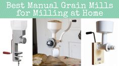 Have a huge grain storage but no way to grind your grains yet? Check out our top 5 recommended manual grain mills to be prepared to mill your grains!