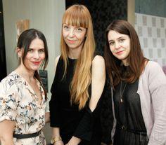 Odgovorna urednica Elle Barbara Sekirnik, urednica mode in lepote Petra Windschnurer in uredniška direktorica Meta Kač.