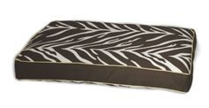 EZ Living Home Zebra Memory Foam Topper Pillow Bed L 29x40x5 in. Brown - http://www.thepuppy.org/ez-living-home-zebra-memory-foam-topper-pillow-bed-l-29x40x5-in-brown/