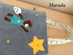 Sac à doudou avec appliqués Mavada