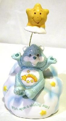 Care Bear Ceramic Music Figurine~. YUP Had this too!! OMG Bringing back so many memories!! I can actually remember holding this in my hands!! awww