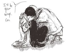 Supernatural Destiel Fanart (Jeez, why is the Destiel fanart SO good? Not my ship, but if I pin much more, who knows?!)