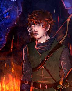 Inheritance: First Battle by ElizaLento@DeviantArt