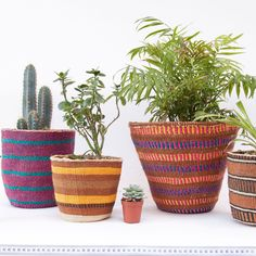 Handmade with love - Hadithi Plants Indoor, Planter Pots, Basket, Make It Yourself, How To Make, Handmade, Design, Hand Made