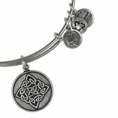 The Paper Store Alex and Ani Celtic Knot Charm Bangle