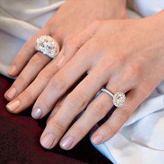 A Modern Twist On Classic Wedding Aesthetics, This Bezel Set Teardrop  Aquamarine Engagement Ring Has A Crown Of Beautiful Rose Cut Diamonds  Huggingu2026