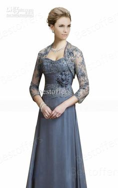 Wholesale Bride Dresses - Buy Navy Blue Lace Sweetheart A Line Floor Length Mother of Bride Dresses Wedding Guest Dress Cheap Evening Dress 211942, $119.0 | DHgate