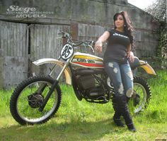 buck murphy motorcycles | 1976 works 250 Can Am Mx Bikes, Motocross Bikes, Vintage Motocross, Bobber Motorcycle, Vintage Motorcycles, Vintage Racing, Sport Bikes, Cars And Motorcycles, Dr 650