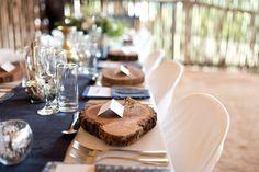 Shweshwe Game Lodge Wedding by Liesl le Roux Wedding Reception Flowers, Wedding Reception Decorations, Wedding Receptions, Wedding Centerpieces, Wedding Colors, Bush Wedding, Wedding Set Up, Lodge Wedding, Diy Wedding