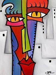 Art: Altered DNA - F639 by Artist Thomas C. Fedro