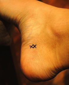 "viking symbol ink- ""where there's a will, there's a way."""