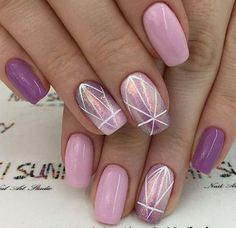 We love cute nail art designs.Have beautiful manicured nail These nail designs are as easy as they are adorable. So we've rounded up the most 80 Cute & Easy Nail Art Ideas That You Will Love To Try to inspire you for your next set of … Cute Simple Nails, Classy Nails, Stylish Nails, Cute Nail Art, Easy Nail Art, Beautiful Nail Art, Love Nails, Pink Nails, Pretty Nails