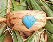 Beautiful jewelry made from olivewood in this Etsy store!