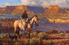 "Autry National Center | Masters of the American West 2008 - Jason Rich, ""On the Canyon Rim"""
