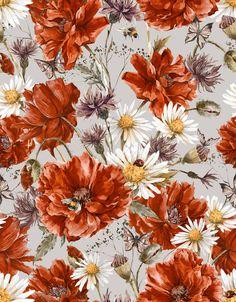 Varvara Kurakina y sus estampados florales (Yosfot blog)
