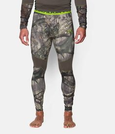 Shop Under Armour for Men's UA ColdGear® Armour Scent Control Leggings in our Mens Bottoms department.  Free shipping is available in US.