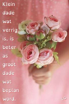 Afrikaanse Quotes, Goeie More, Thank You God, Prayers, Projects To Try, Rose, Flowers, Burgers, Motivational