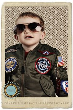 military. Could b cute halloween costume for the boys... Goose and maverick