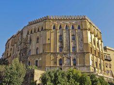 Palermo palazzo dei Normanni. Italy