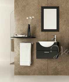 Make Photo Gallery space saving ideas Mira Single Bathroom Vanity Espresso Space saving