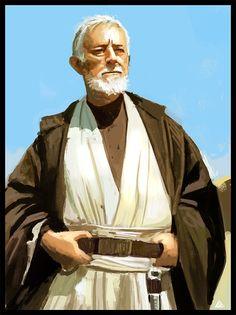 Star Wars - Obi Wan Kenobi by Jamga *