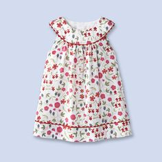 Liberty of London and Jacadi Toddler Dress...how I miss my girls wearing dresses like this (sigh)
