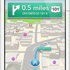 For Best Navigation, Use Car GPS and a Smartphone Together: Smartphones complement car GPS devices for navigation. Mode Sombre, Ios 7, Gps Navigation, Used Cars, Grand Canyon, Smartphone, Things To Come, Street View, Apple