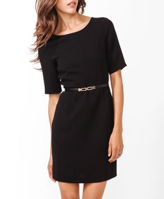 V-Back Sheath Dress | FOREVER21 - 2043471865    Teacher possibility