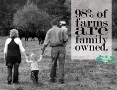 Family Farms: the heart and soul of American Agriculture!  Farming has been in my family since the 1800's.  The most hard-working, good people you will ever meet.  #farming  #farmers