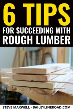 Milling rough lumber for workshop projects saves money and opens more creative possibilities than standard, pre-dressed wood. However, success with rough demands more than just running boards through your jointer and thickness planer. Woodworking Techniques, Woodworking Videos, Woodworking Wood, Woodworking Projects, Rough Sawn Lumber, Wood Surface, Milling, Wood Species, Furniture Projects