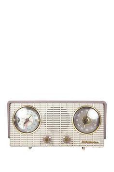 Rare Vintage RCA Victor Clock Radio c1954