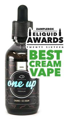 Oneup Vapor Churros and Ice Cream E-Juice Flavor