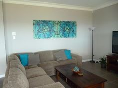 AVA hanging in the home of Melinda.  #urbanroad #canvas #art