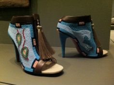 Jamie Okuma beaded shoes