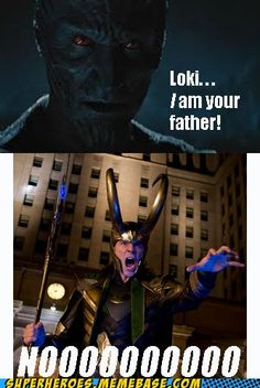 Aw, c'mon, Loki!  I don't even think Laufey meant to leave you in that temple!  Like...well, like how the McCallisters left their 8-year-old son to the mercy of idiotic burglars in Home Alone.