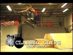Chad Muska Skateboarding Classic Clips - Clube do skate