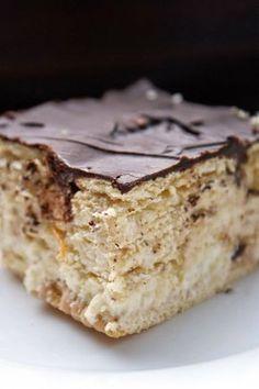 Apple Recipes, Cake Recipes, Polish Recipes, Banana Bread, Cheesecake, Good Food, Food And Drink, Sweets, Cookies