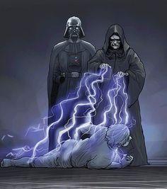 Son of Skywalker Star Wars Film, Star Wars Saga, Theme Star Wars, Vader Star Wars, Darth Vader, Star Wars Concept Art, Star Wars Fan Art, Star Wars Brasil, Arte Nerd