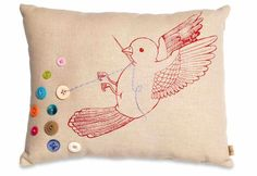birds and buttons. Two of my favourite things.