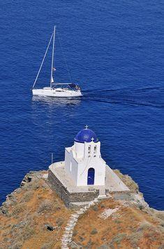 Chapel in Sifnos Island, Greece