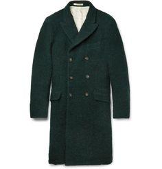 Massimo Alba Double-Breasted Overcoat
