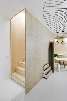 Gallery of Duplex in Kurkowa / 3XA - 15 / staircase + storage