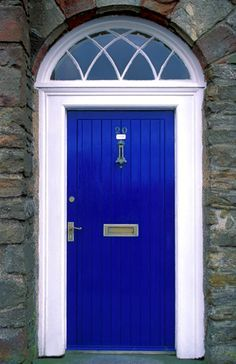 Is it too blue for a front door? I kind of want it :)