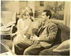 Carole Lombard, Fred MacMurray in Swing High, Swing Low 1937
